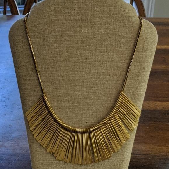 Gold Essential Fringe Necklace